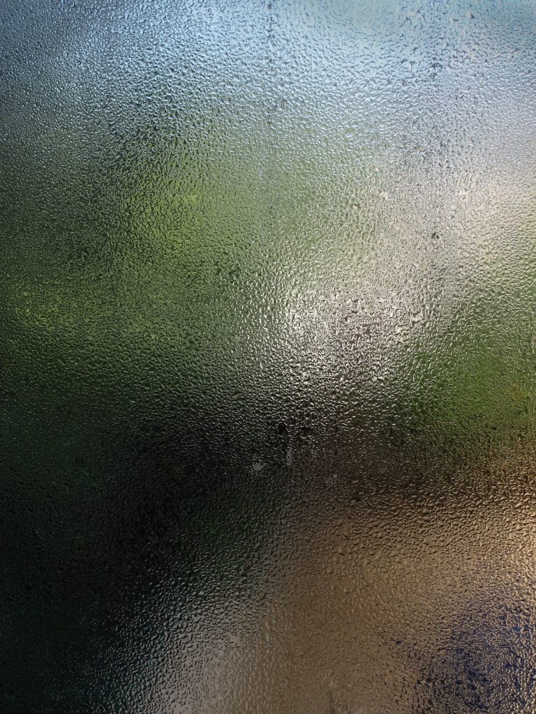 window damp from condensation